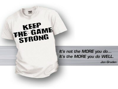 Keep The Game Strong Tee Mens
